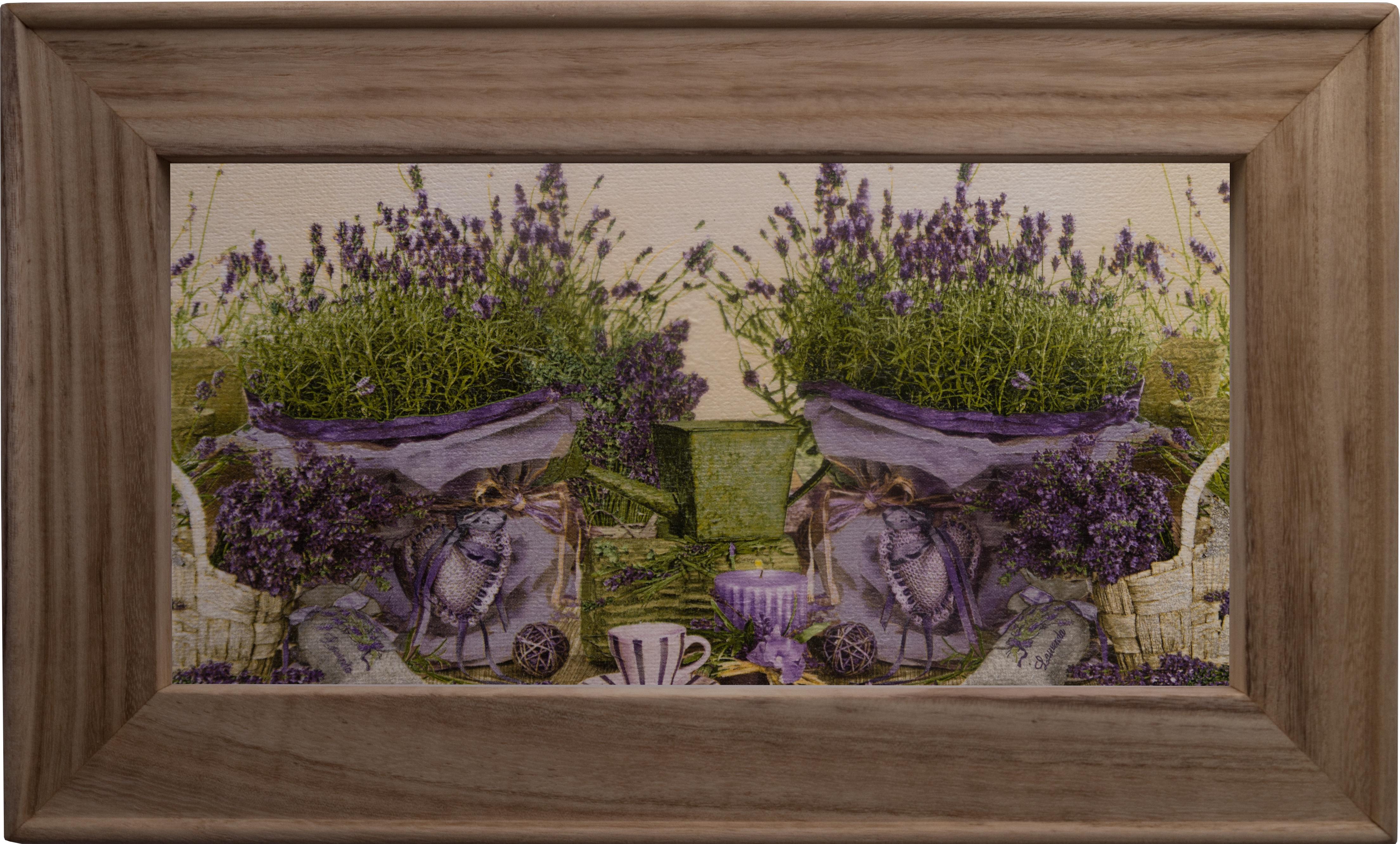 Lavendel mit Kerze | Bilder Meer